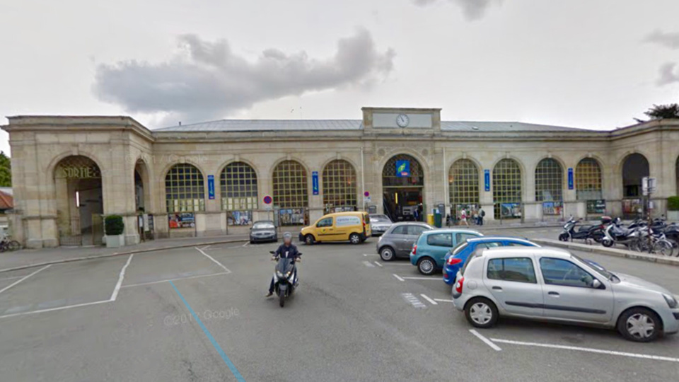 La gare a été évacuée et fermée momentanément (Illustration)