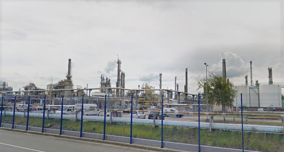 Fuite de gaz enflammé sur le site d'ExxonMobil à Port-Jérôme : la situation sous contrôle