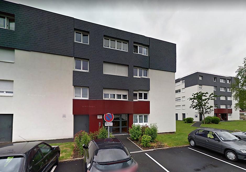 La fillette est tombée du troisième étage de cet immeuble, rue de Verdun (Illustration © Google Maps)