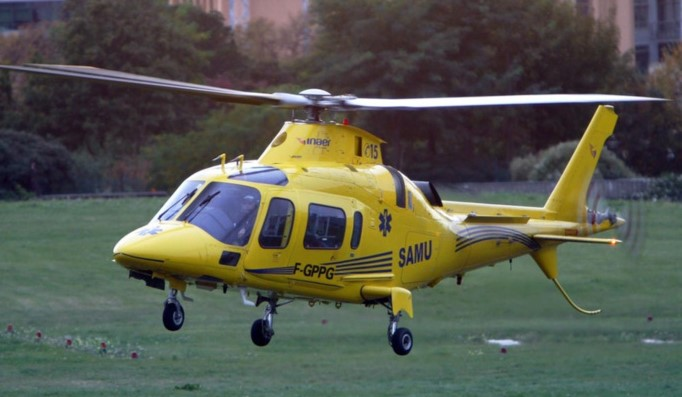 Le septuagénaire grièvement blessé est décédé avant l'arrivée de l'hélicoptère du SAMU (Illustration)