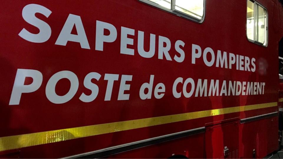 Une quinzaine de sapeurs-pompiers ont été mobilisés tout l'après-midi sur les lieux (Illustration)