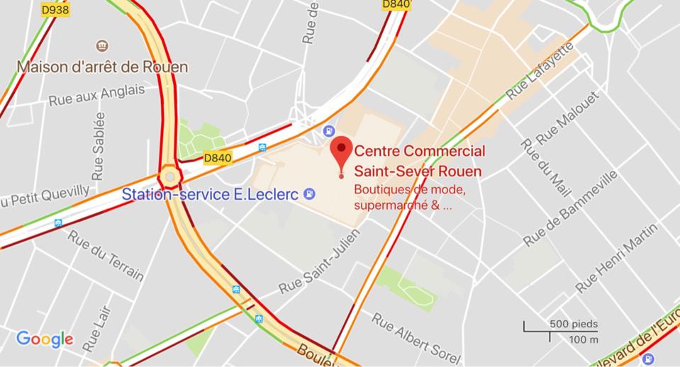 Alerte au colis suspect à Rouen : métro interrompu et circulation perturbée dans le secteur de Saint-Sever