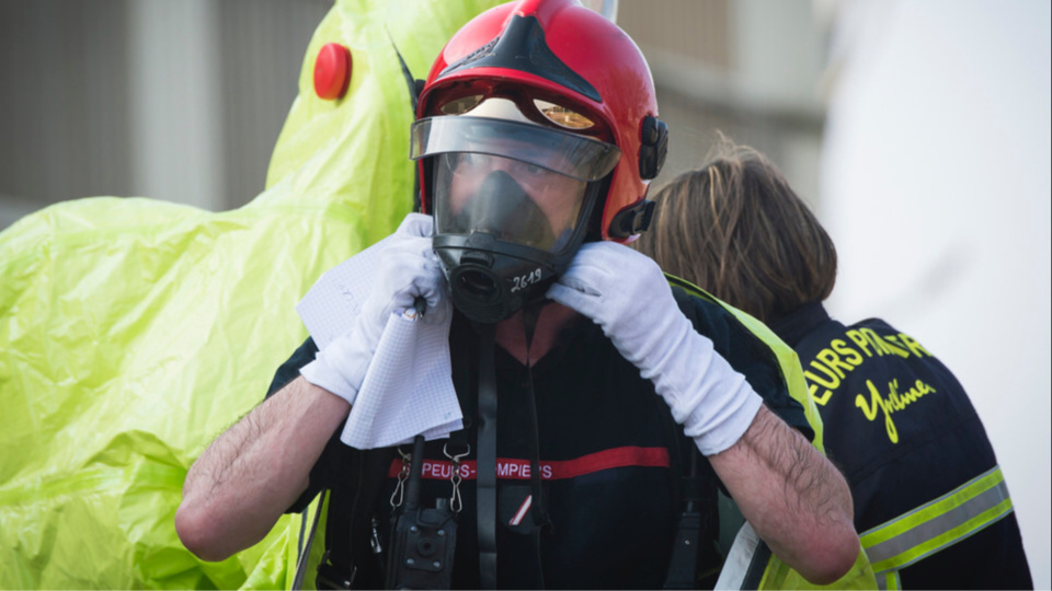 Une cinquantaine de pompiers ont été mobilisés sur les lieux au plus fort de l'intervention (Illustration @ Sdis)