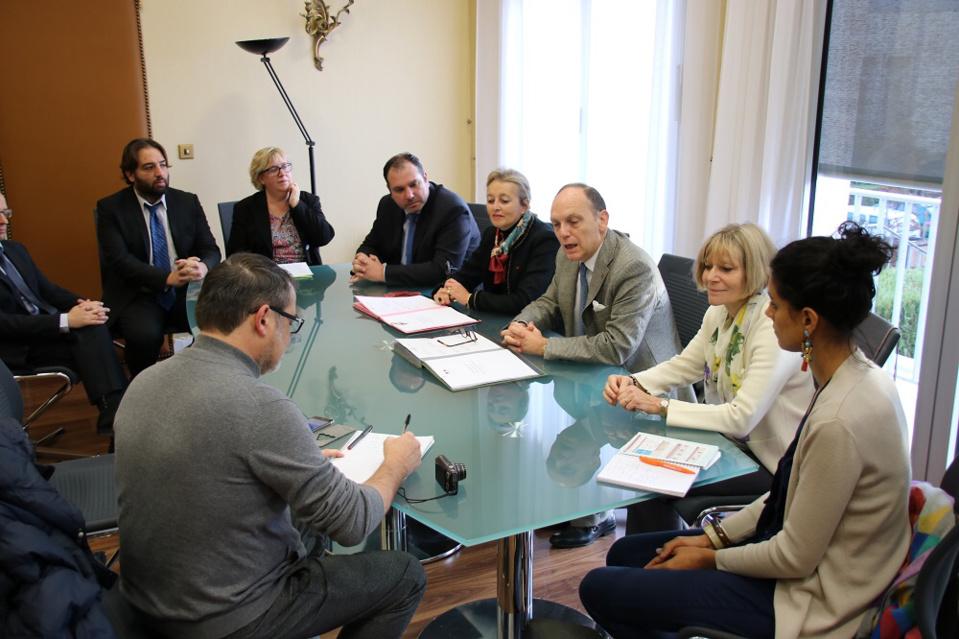 Le nouveau protocole départemental a été signé aujourd'hui en Préfecture