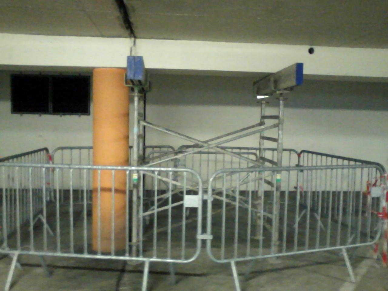 L'ouvrage souterrain a été étayé afin d'empêcher l'effondrement (Photos © D.R.)