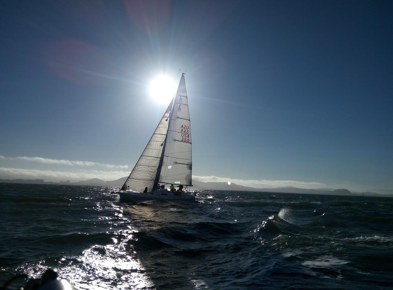 Les loisirs nautiques en Manche et en mer du Nord sont fortement déconseillées en raison de fortes rafales de vent (Illustration © Pixabay)