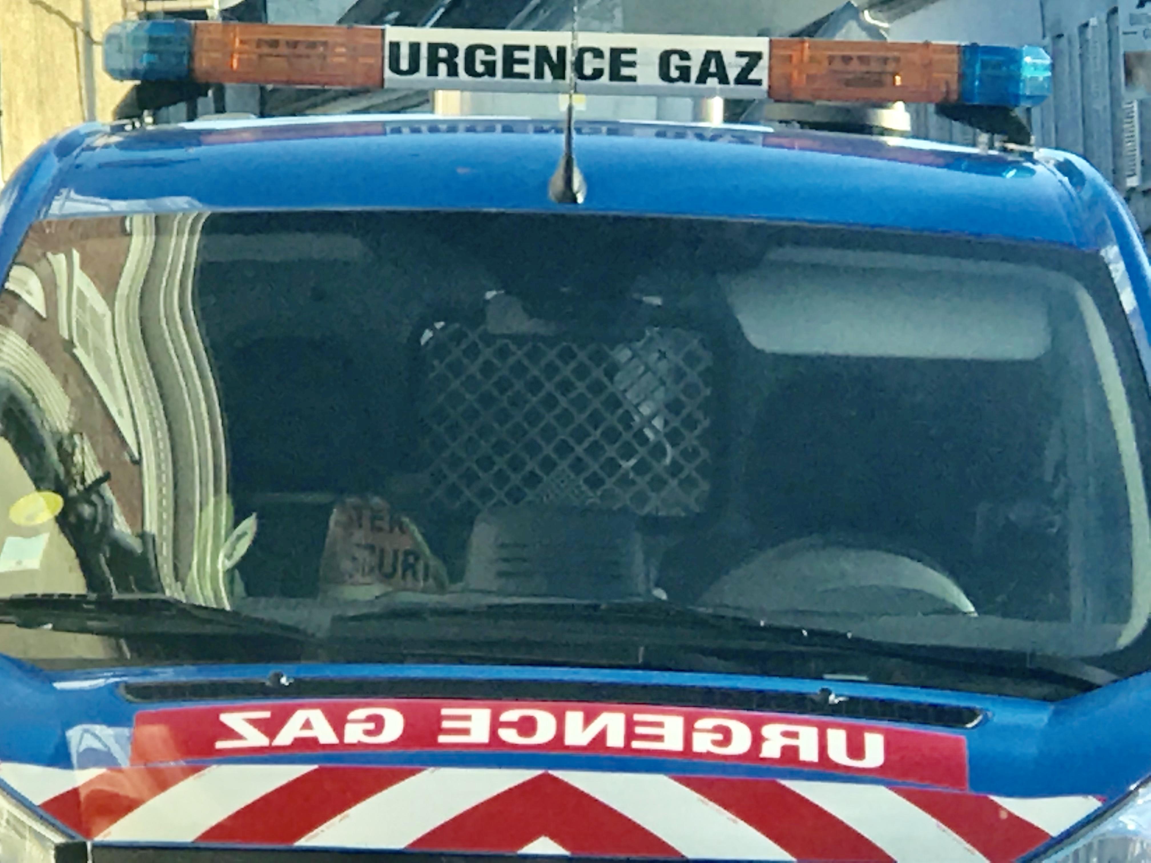 L'alimentation en gaz devrait être rétablie dans la soirée après remise en état du coffret endommagé dans l'accident (Illustration © infoNormandie)