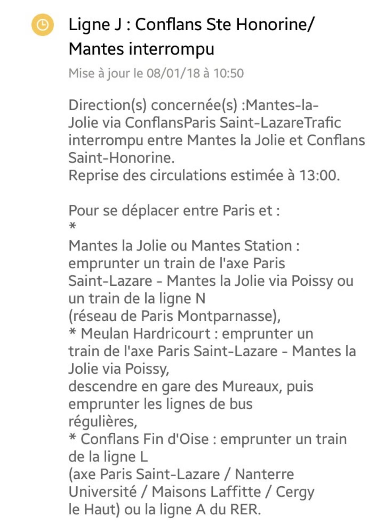 Accident de voyageur à Triel-sur-Seine : les trains arrêtés entre Conflans et Mantes