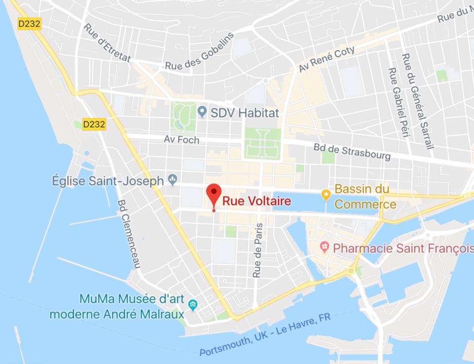 Le Havre : renversé par un véhicule ce matin, un sexagénaire hospitalisé dans un état grave