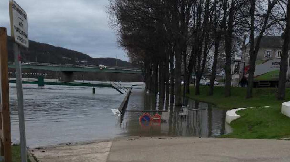 52 communes de l'Eure sont conernées par le phénomène de crue (Photo @ infonormandie)