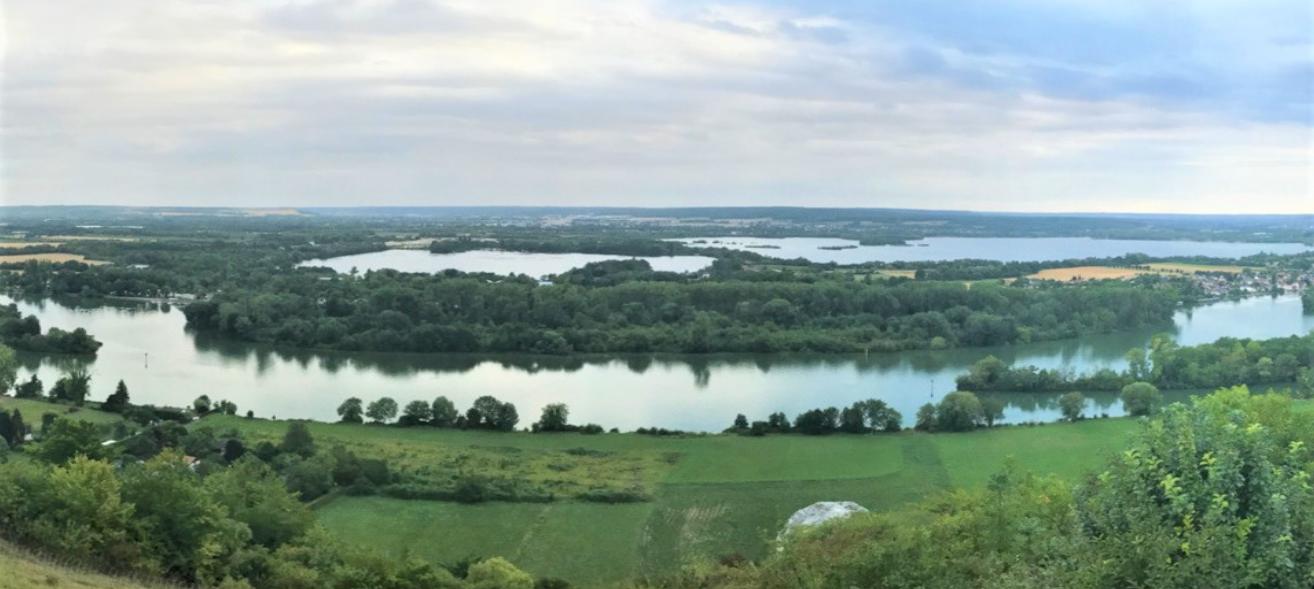La Seine déborde dans de nombreux endroits de la Seine-Maritime et de l'Eure. Selon les prévisions, elle va continuer à monter dans les prochains jours (Photo © infonormandie)