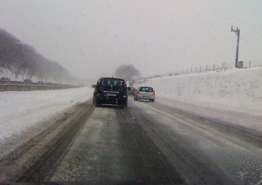 Des chutes de neige sont annoncées dans les prochaines heures. Le préfet de l'Eure appelle à la prudence sur les routes (Illustration © infonormandie)
