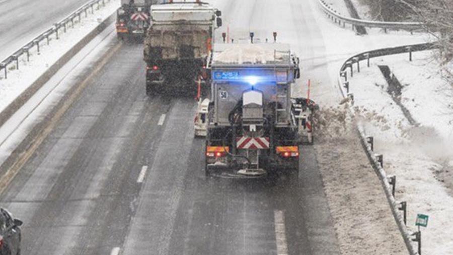 Les conditions de circulation risquent d'être particulièrement difficiles ce vendredi 9 février (Illustration © Sanef/Twitter)