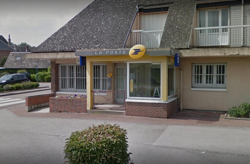 Le bureau de poste de Yerville : le commando est passé à l'action vers 3 heures ce matin (Illustration © Google Maps)