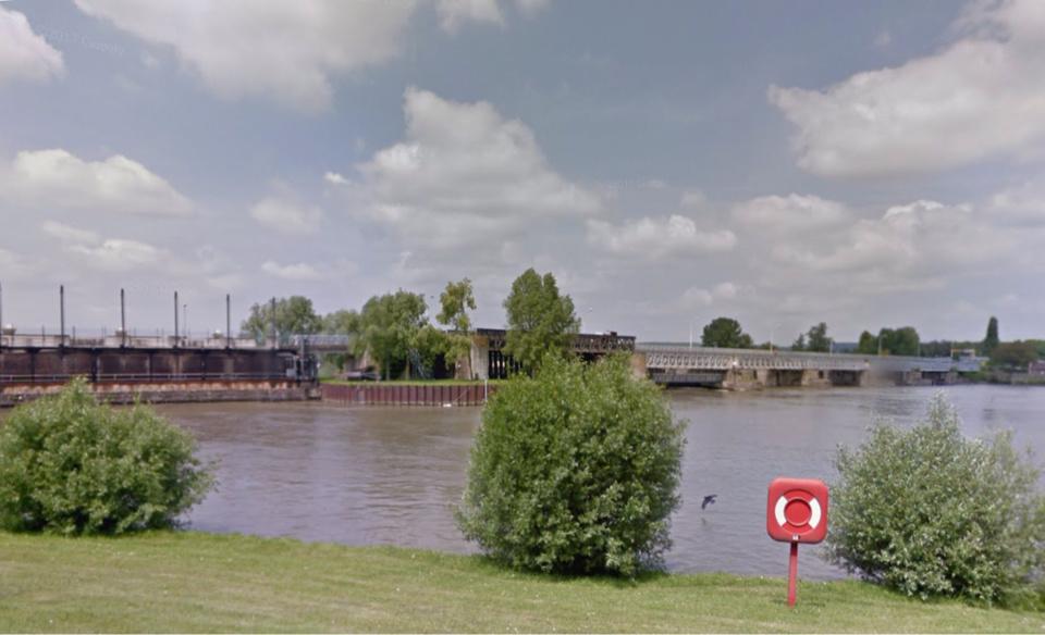Le barrage de Poses, dans l'Eure