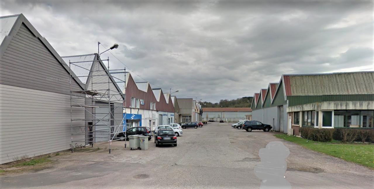 Des entreprises du parc du Talou ont été privées d'électricité tout l'après-midi (Illustration © Google Maps)