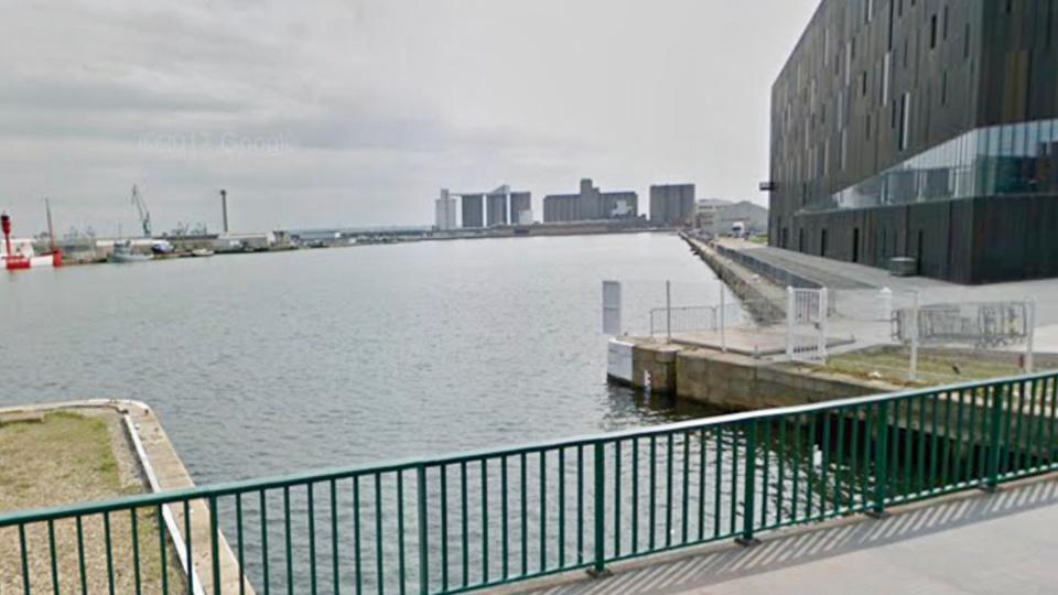 Le corps a été découvert flottant à la surface du bassin Vauban (Illustration @ Google Maps)