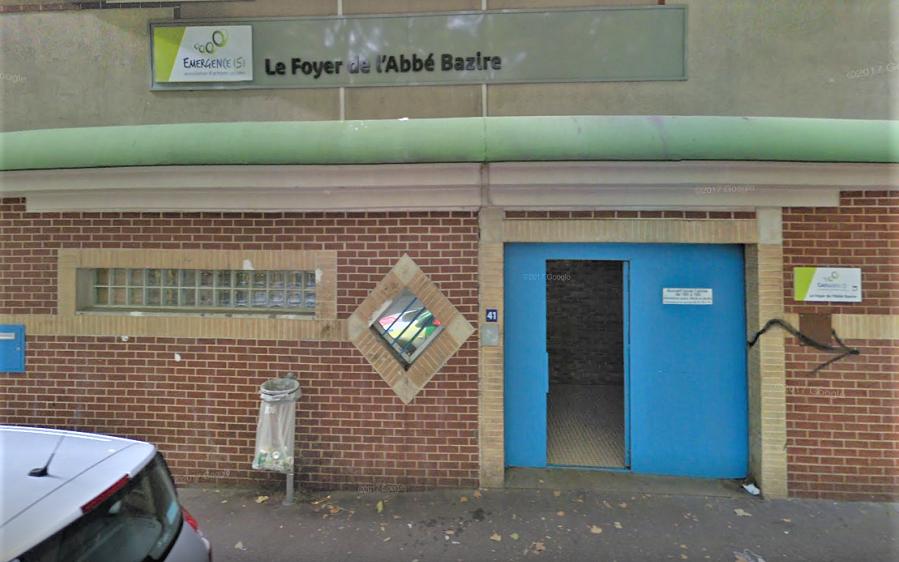Le foyer de l'Abbé Bazire à Rouen héberge pour la nuit des personnes sans-abri