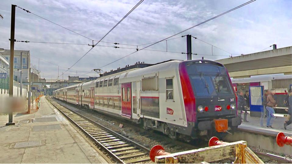 L'homme avait été signalé à deux reprises par des voyageurs du RER C (Illustration)