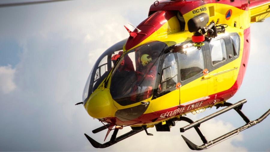 La victime, polytraumatisée, devait être transportée vers un hôpital à bord de Dragon 76