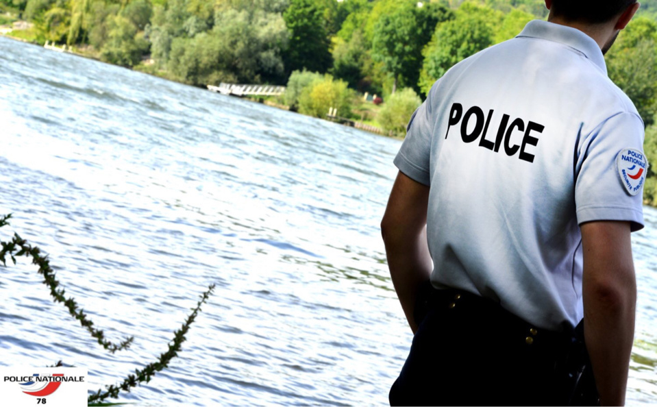 La rapidité de l'intervention des policiers a permis de sauver la vie à la nonagénaire (Photo © DDSP78)