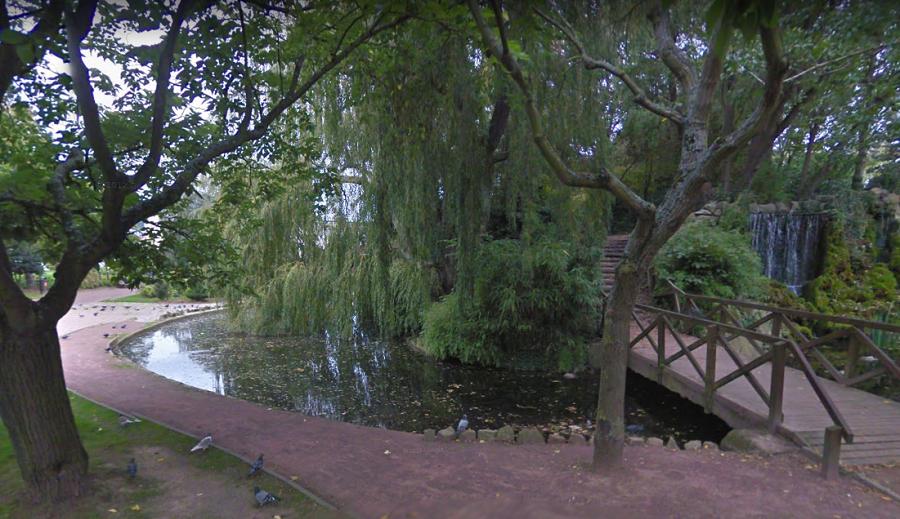 Le corps a été découvert dans ce bassin ce dimanche matin peu avant 11h30 (Illustration)