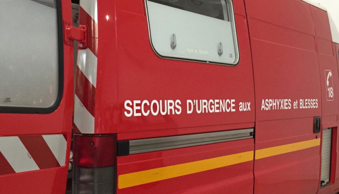 Les sapeurs-pompiers ont pris en charge les deux blesés qui ont été transportés à l'hôpital (Illustration © Pixabay)
