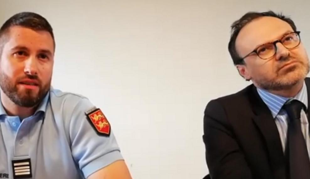 Yannick Calvet, commandant de la compagnie de gendarmerie des Andelys et Antoine Barat, substitut du procureur de la République d'Evreux sont désormais convaincus de la piste accidentelle