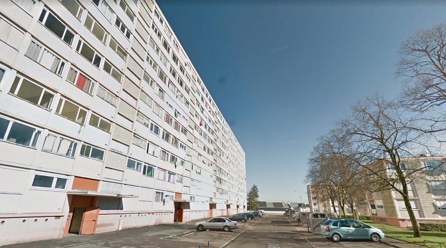 """La copropriété """"Groupe Robespierre"""" comprend 6 bâtiments et un total de 306 logements dans le quartier du Château Blanc (Illustration)"""