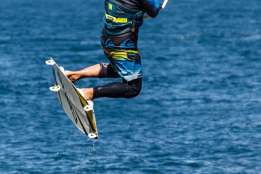 Le kite-surfer était en diffciulté à environ 400 mètres au large de la plage lorsque les secours ont été alertés  - Illustration © Pixabay