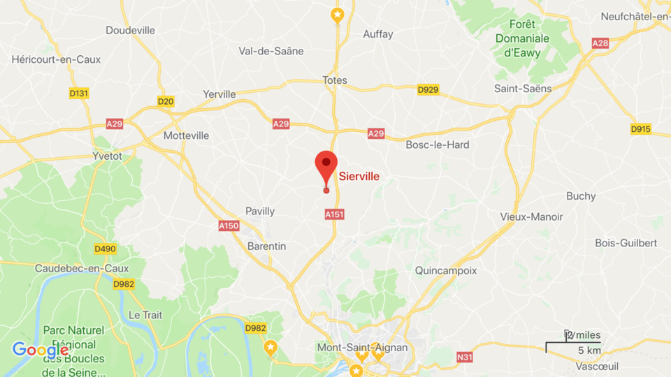 Seine-Maritime : le feu de caravane provoque une explosion et se propage au pavillon à Sierville