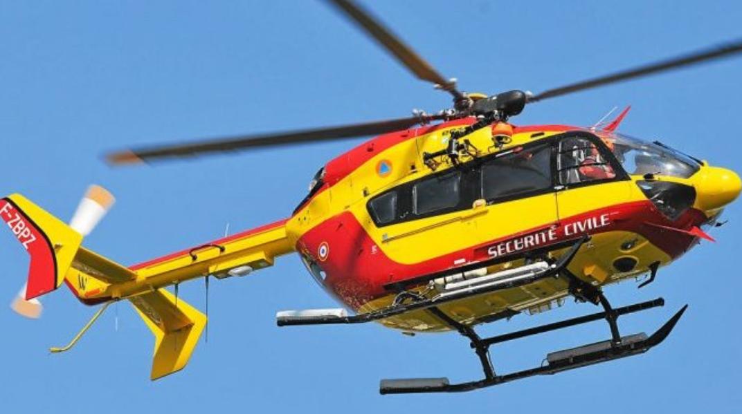 Les deux victimes ont été transportés par Dragon 76 à l'hôpital Jacques Monod - Illustration