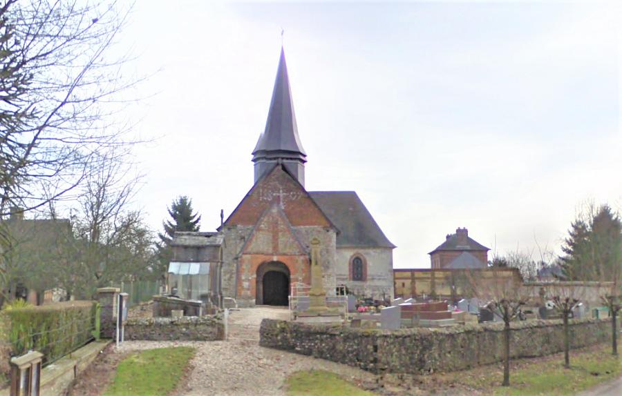 L'église de Saint-Lucien, près de Forges-les-Eaux