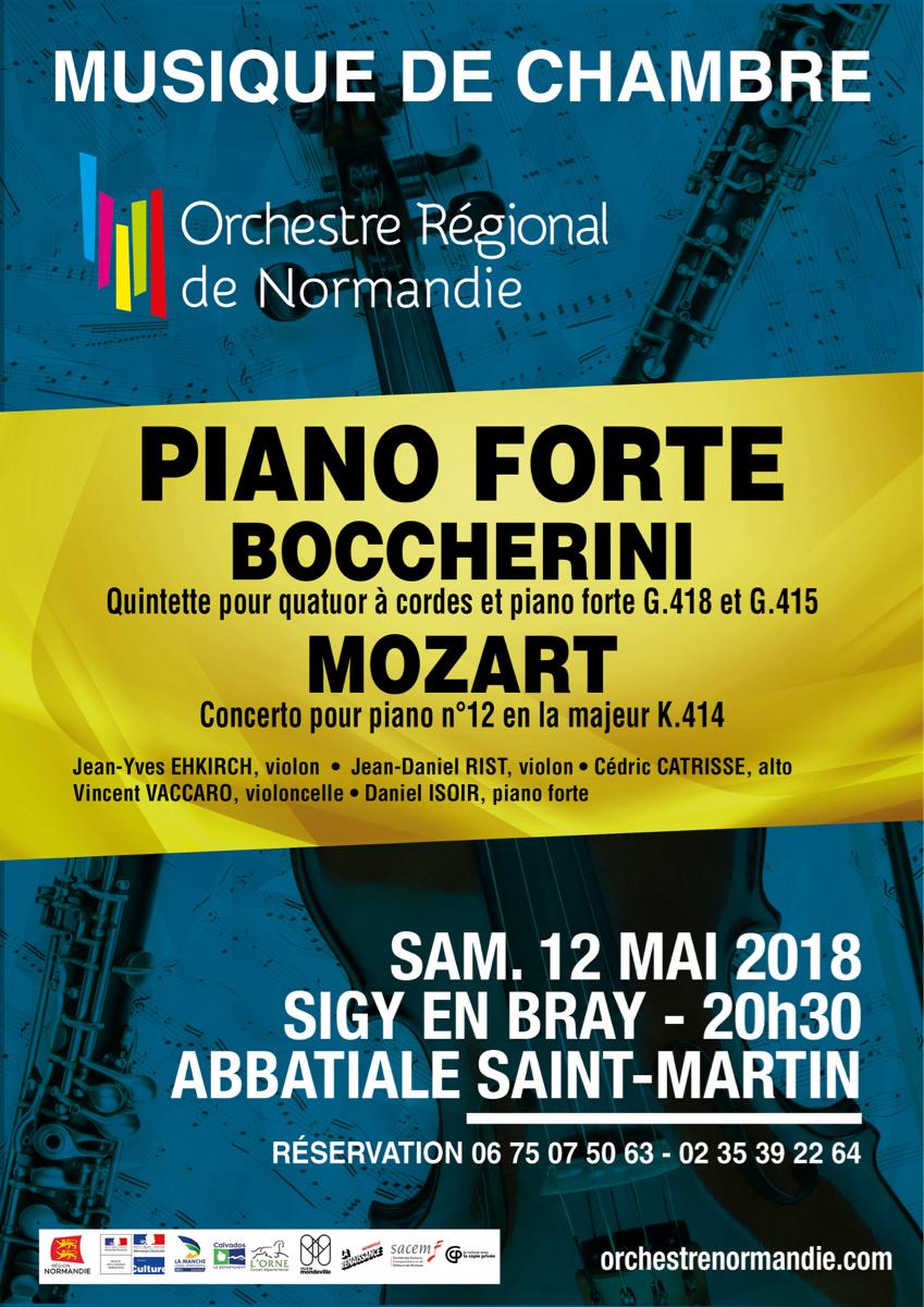 Sigy-en-Bray (Seine-Maritime) : Musique de chambre au profit de la restauration de l'église de Saint-Lucien