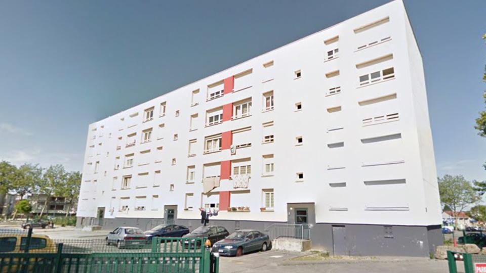 L'homme suicidaire menaçait de se jeter dans le vide du 5ème étage d'un immeuble 90, rue de Chateaudun, au Havre - Illustration @ Google Maps