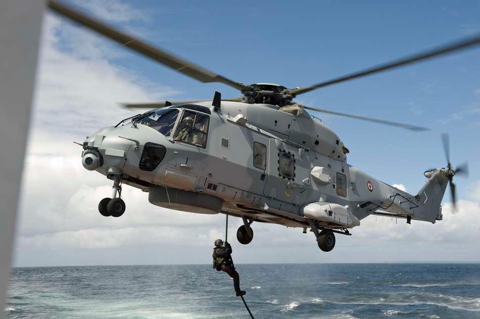 L'hélicoptère Caïman de la Marine nationale - Photo @ Ministère de La Défense