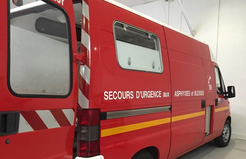 La victime a été transportée dans un état grave à l'hôpital par les sapeurs-pompiers -Illustration © Pixabay