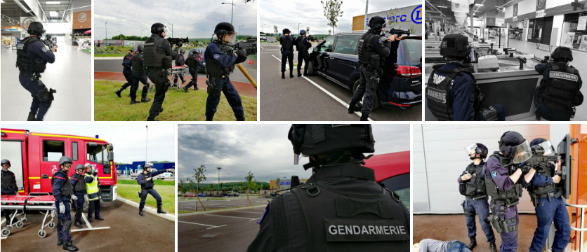 Le film en images de l'intervention des forces de gendarmerie et des secours - Crédit photo © Gendarmerie de l'Eure/Facebook
