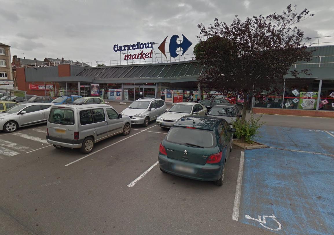 Le magasin était sur le point de fermer samedi soir lorsqu'il a été braqué - Illustration ® Google Maps