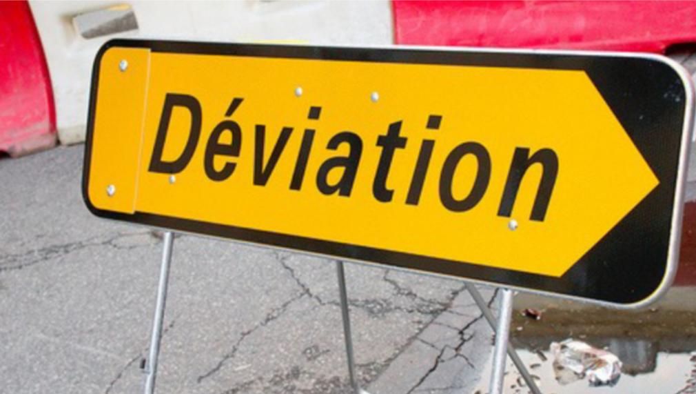 Trois routes départementales étaient encore fermées et déviées ce jeudi en milieu de matinée - Illustration