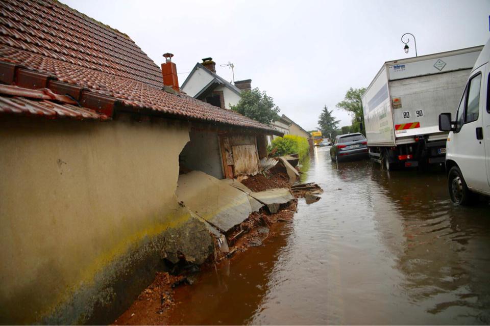 Les dégâts sont importants dans les communes les plus touchées par les intempéries - Photo @ Département 27