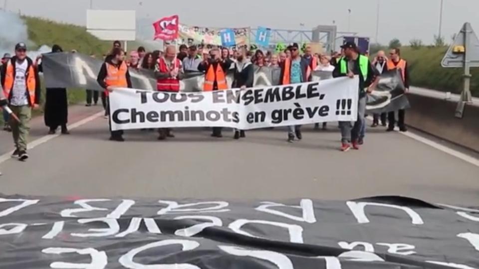 Le pont de Normandie fermé ce mardi midi en raison d'une manifestation sociale
