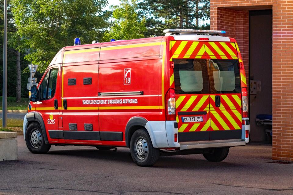 La victime a été conduite par les pompiers à l'hôpital de Dieppe, dans un état grave - Illustration