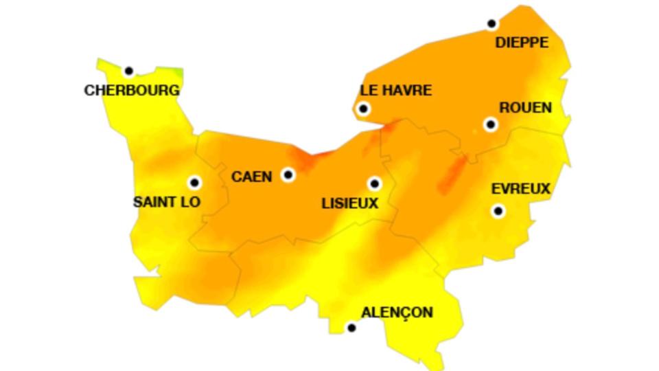 La carte de la pollution pour demain samedi 7 juillet - document @ Atmo