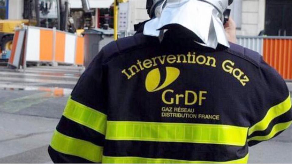 A 11h30, les techniciens de GrDF cherchaient à localiser la fuite - Illustration