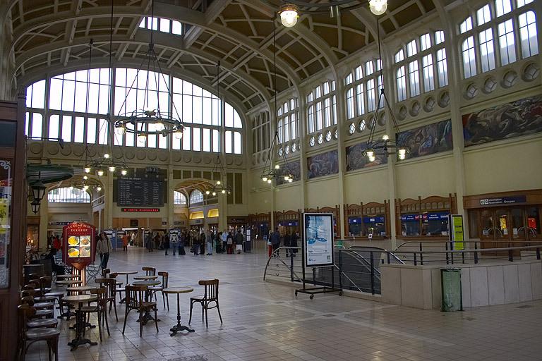 Les faits se sont déroulés dans le hall de la gare de Rouen - illustration