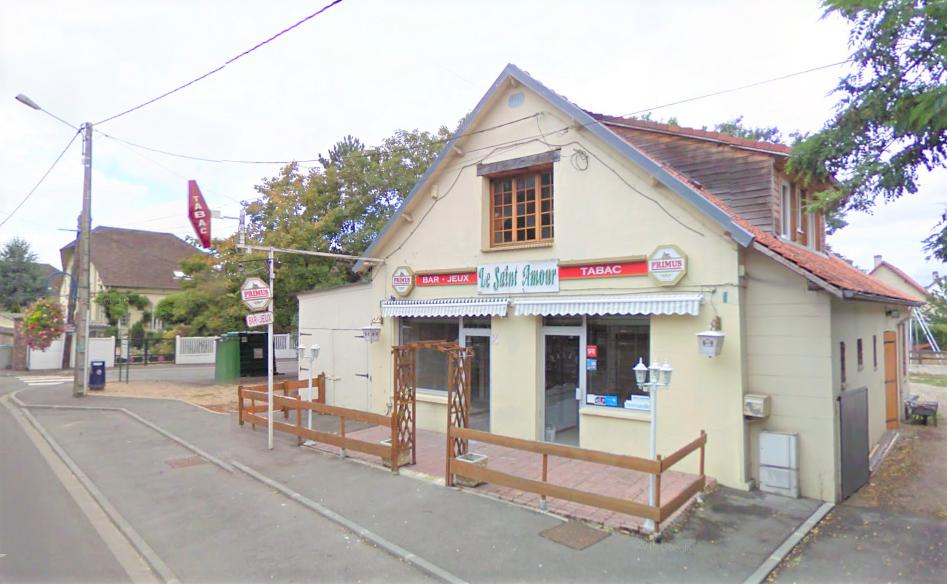 L'établissement est situé dans un quartier isolé, rue Marcel Touchard - Illustration © Google Maps