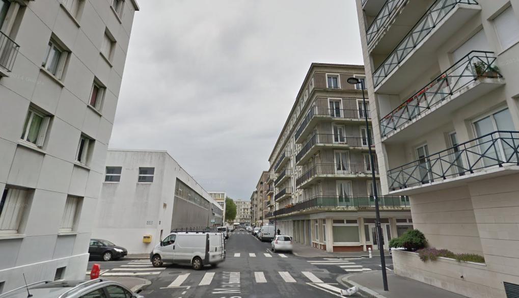 Le drame s'est déroulé rue Jules Masurier  -Illustration © Google Maps