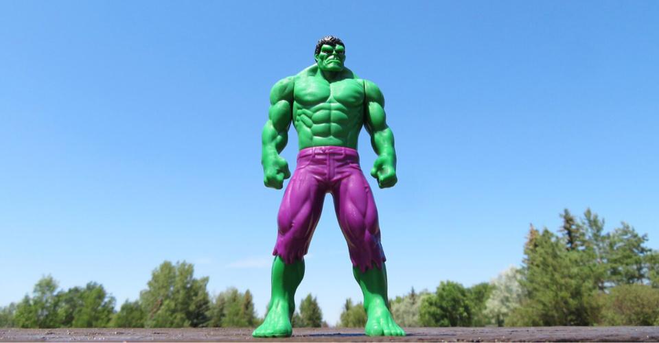 Hulk. - Illustration @Pixabay