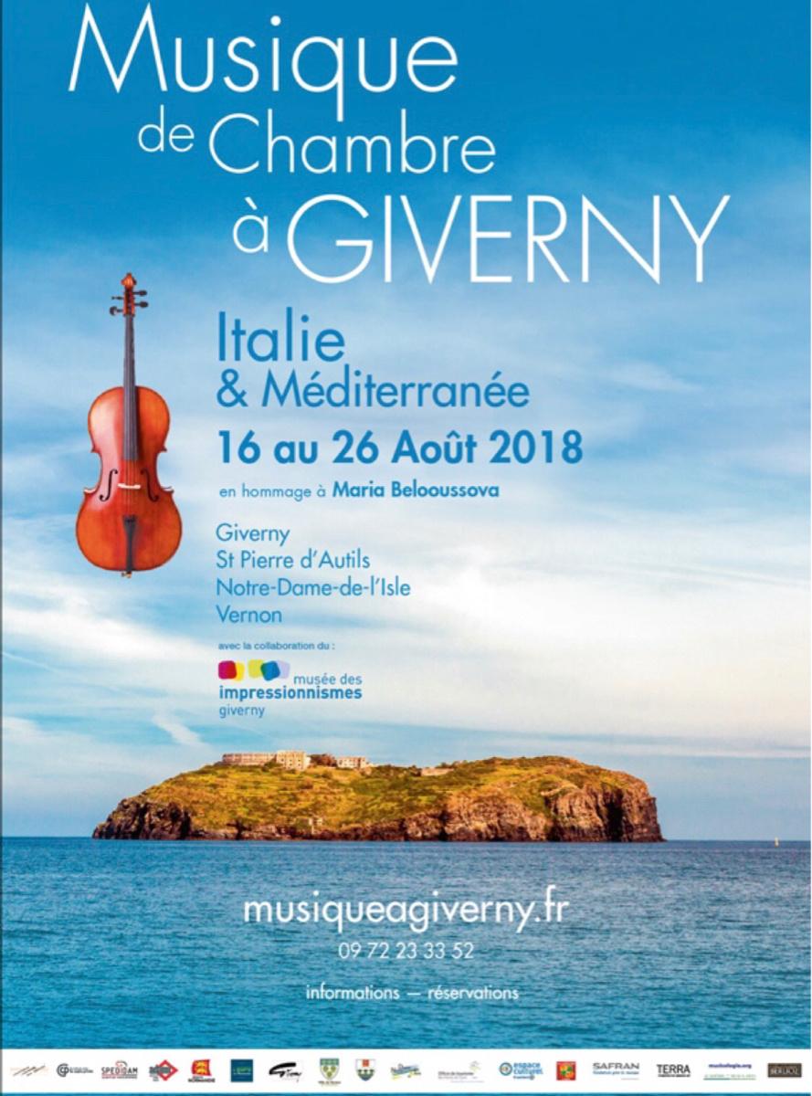 Musique de chambre à Giverny (Eure) : le violoniste Ivry Gitlis, invité exceptionnel les 18 et 19 août